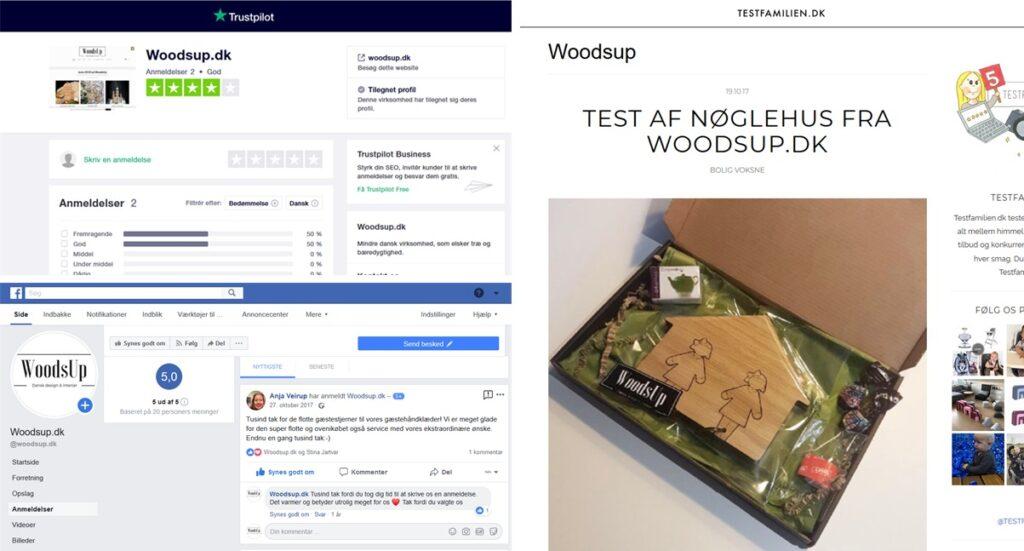 235d683bca7d WoodsUp anmeldelser på Facebook
